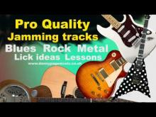 Embedded thumbnail for Pro Quality Jam Track - Em Metallica style ish jamming track