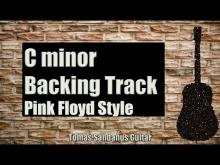 Embedded thumbnail for Pink Floyd Style Backing Track in C minor - Classic Rock Guitar Backtrack - Chords - Scale - BPM