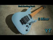 Embedded thumbnail for Heavy Rock Guitar Backing Track E Minor