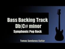 Embedded thumbnail for Bass Backing Track Jam in Db   C# Minor   Symphonic Pop Rock