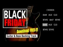 Embedded thumbnail for BlackFriday Free 6/8 Guitar&Bass BackingTrack Em 84Bpm