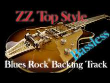 Embedded thumbnail for Blues rock backing track ZZ Top style - bassless
