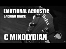 Embedded thumbnail for Emotional Acoustic Ballad Guitar Backing Track In C Mixolydian