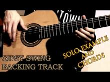 Embedded thumbnail for Backing Track Gipsy Swing Jazz E minor