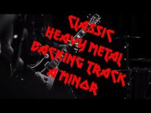 Embedded thumbnail for Classic heavy metal backing track