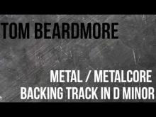 Embedded thumbnail for Metal Guitar Backing Track - in D Minor - Metal / Metalcore