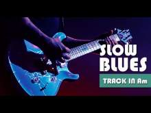 Embedded thumbnail for Inspirative Slow Minor Blues Guitar Backing Track Jam in Am