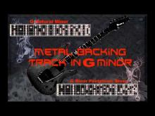 Embedded thumbnail for Nice Metal Backing Track in G Minor