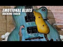 Embedded thumbnail for Slow Emotional Blues Guitar Backing Track A Minor | Jam in Am