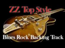 Embedded thumbnail for Blues rock backing track ZZ Top style
