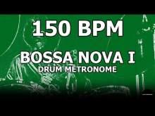 Embedded thumbnail for Bossa Nova I | Drum Metronome Loop | 150 BPM
