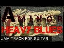 Embedded thumbnail for Heavy Blues Backing Track For Guita in Am