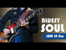 Embedded thumbnail for Blues Soul Guitar Backing Track Jam In A Minor