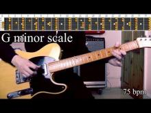 Embedded thumbnail for Sweet Seductive Blues Style Backing Track - G Minor Scale | 75 bpm