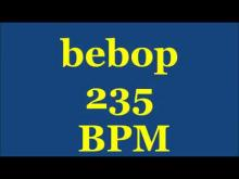 Embedded thumbnail for Drum Loops for Practice Bebop 235bpm