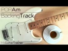 Embedded thumbnail for Backing Track - Pop Am (4 chords song)