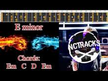 Embedded thumbnail for Electro Hard Rock / New Metal Style Guitar Backing Track - E minor | 120bpm