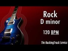Embedded thumbnail for ROCK Backing Track in Dm
