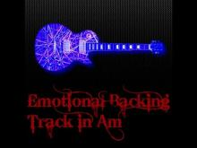 Embedded thumbnail for Emotional Backing Track in Am