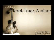 Embedded thumbnail for Rock Blues Backing Track in A minor