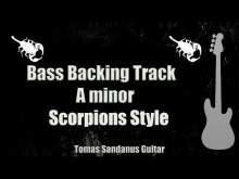 Embedded thumbnail for Bass Backing Track A minor - Still Loving You - Scorpions style - NO BASS