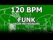 Embedded thumbnail for Funk | Drum Metronome Loop | 120 BPM