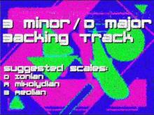 Embedded thumbnail for D Major/B Minor Backing Track: Hard Rock, 80s, Cheesey