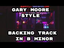 Embedded thumbnail for Gary Moore Style Backing Track in B Minor