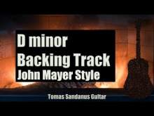 Embedded thumbnail for Slow Dancing in a Burning Room Style Backing Track in D minor - John Mayer Pop Rock Guitar Backtrack