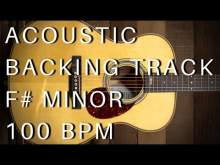 Embedded thumbnail for Acoustic Guitar Backing Track | F# Minor (100 bpm)