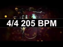 Embedded thumbnail for Drums Metronome 205 BPM