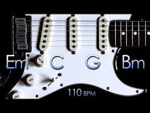 Embedded thumbnail for Energetic Rock Guitar Backing Track E Minor