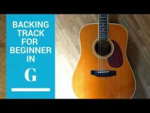 Embedded thumbnail for Slow Beginner solo in  G MAJ backing track