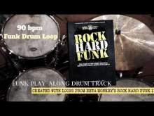 Embedded thumbnail for Funk Drum Loop 90 bpm - Beta Monkey
