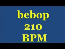 Embedded thumbnail for Drum Loops for Practice Bebop 210bpm