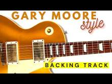 Embedded thumbnail for GARY MOORE Passionate BLUES Guitar Backing Track Jam in A minor