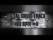 Embedded thumbnail for Metallica Style Metal Drum Track 180 BPM | Preset 3.0 (HQ,HD)
