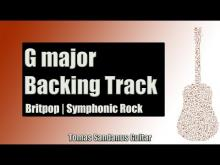 Embedded thumbnail for Britpop Symphonic Rock | Guitar Backing Track Jam in G Major with Chords | G Major Pentatonic Scale