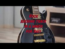 Embedded thumbnail for Rock jam track in a minor - no bass