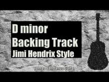 Embedded thumbnail for All Along The Watchtower Style Backing Track in D minor - Jimi Hendrix Classic Rock Guitar Backtrack