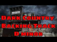 Embedded thumbnail for Dark Country Backing Track - D minor