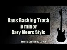 Embedded thumbnail for Bass Backing Track D minor - Gary Moore Style Rock Ballad - NO BASS - Chords - Scale - BPM