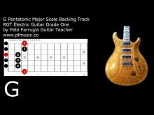 Embedded thumbnail for Guitar Backing Track G Pentatonic Major Scale - Grade One