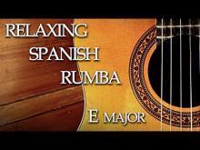 Embedded thumbnail for Spanish Rumba Chillout Flamenco Guitar Backing Track E Major