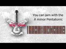Embedded thumbnail for Guitar Backing Track / Jam Track - Punk Rock in Am / C