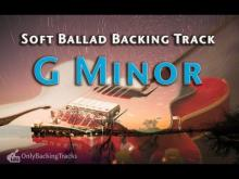 Embedded thumbnail for Emotional Rock Ballad Backing Track for improvisation (G Minor)