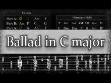 Embedded thumbnail for Backing Track - Ballad in C major