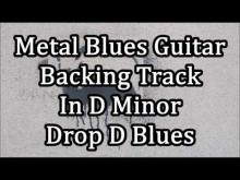 Embedded thumbnail for Metal Blues Backing Track In D Minor (Drop D Blues)