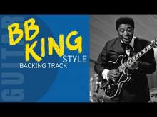 Embedded thumbnail for BB KING Style Slow Blues Backing Track for Guitar Jam C7