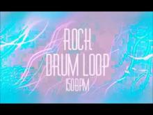 Embedded thumbnail for ROCK/POP Drum Loop (150 BPM)
